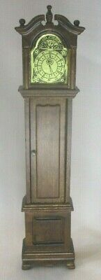 Vintage Concord Doll Furniture German Miniature Grandfather Clock Opens