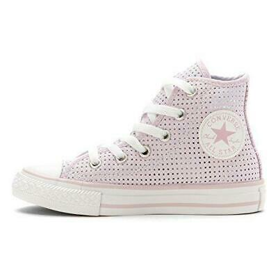 Converse All Star High Top Pink Girls Textile Sneakers
