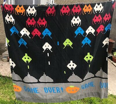 Space Invaders Game Over Curtains Gaming Next