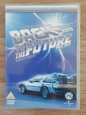 Back To The Future Trilogy (DVD, 2005) 4 Disc Ultimate Edition Stephen Spielberg