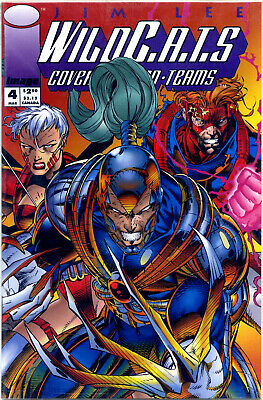 WildCATS #4 (of 4; 1993; vf+ 8.5) new & unread first printing