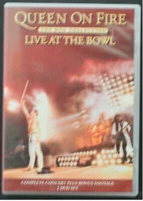 DVD - Queen - On Fire (Live at the Bowl) - USED (very good condition)