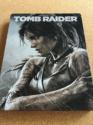 Tomb Raider *STEELBOOK EDITION* (PAL) - Sony Playstation PS3 Game - *VERY RARE*