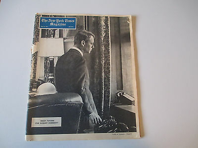 The New York Times Magazine-Robert Kennedy Cover-May 24, 1964-Book