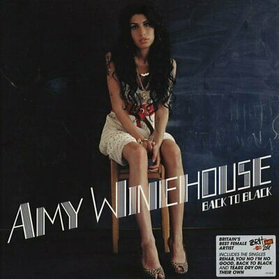 AMY WINEHOUSE Back To Black vinyl LP Record SEALED/BRAND NEW