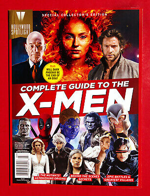 Complete Guide To The X-MEN - BOOK HOLLYWOOD SPOTLIGHT NEW 2019