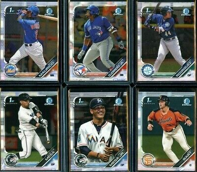 2019 Bowman Chrome Prospects #BCP-1 - BCP-150 cards - Pick Your Player
