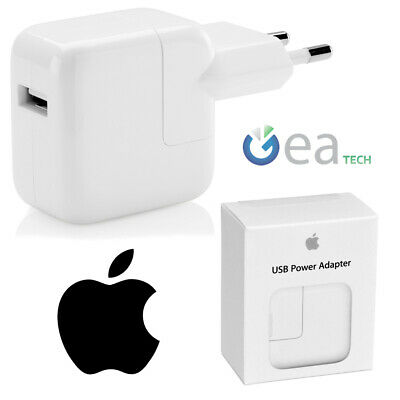 Apple Ladegerät Original USB Md836zm/A 12w Schnell Fast in Blister IPHONE