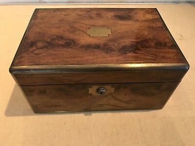 antique writing slope box