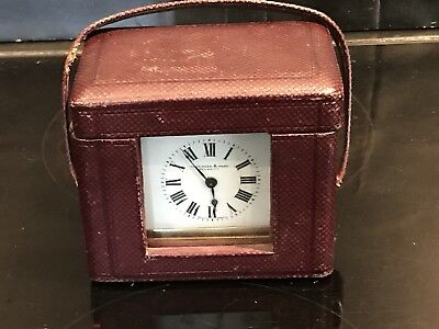 antique mantel carriage clocks pre-1900