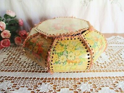 Vintage Hand Made Card Craft Box – Sewing Hankies Shabby Chic