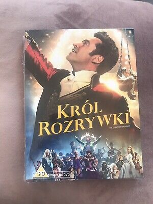 The Greatest Showman DVD Polish With English Subtitle