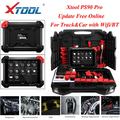 XTool PS90 PRO OBD2 Heavy Duty Truck Car Diagnosis Scan Tool for Diesel Gasoline