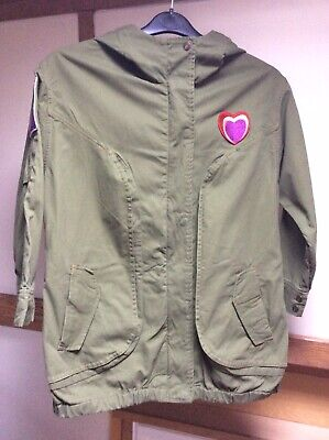 Authentic Girls Little Marc Jacobs green Parca jacket Age 12 years