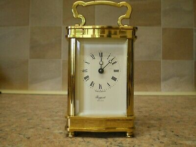 Rapport of London Brass Carriage Clock