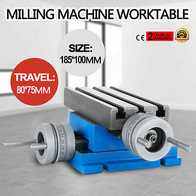 Multifunction Worktable Milling Machine Milling Working Table Drill Vise Fixture