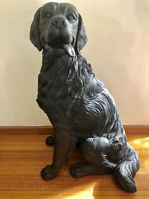 Brand New Large Life Size Dog Sculpture