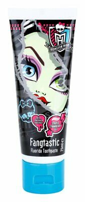 FANGTASTIC MONSTER HIGH  FLUORIDE  Toothpaste 75ML X 1  STRIPED STRAWBERRY