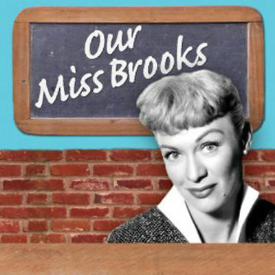 Our Miss Brooks, 180 Comedy Sitcom Old Time Radio Shows, OTR, DVD