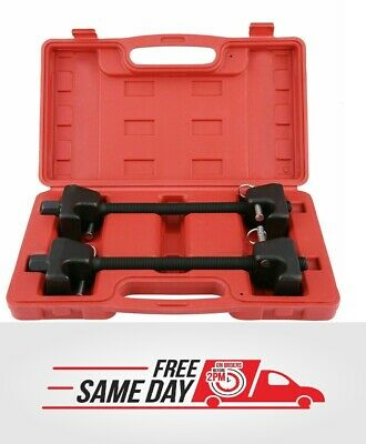 Coil Spring Compressor Kit Pair of Suspension Clamps With Case Portable CSN02