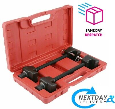 Coil Spring Compressor Kit Pair of Suspension Clamps With Case Portable CSN07