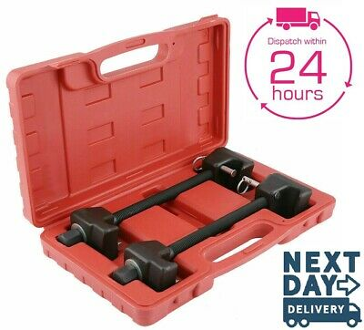 Coil Spring Compressor Kit Pair of Suspension Clamps With Case Portable CSN08