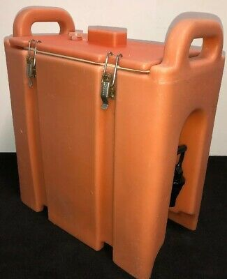 Cambro Orange Insulated Beverage Carrier 250LCD 2.5 Gallon Capacity. Our #1