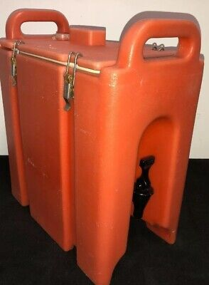 Cambro Orange Insulated Beverage Carrier 250LCD 2.5 Gallon Capacity. Our #2