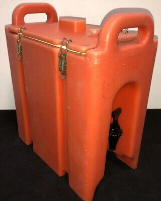 Cambro Orange Insulated Beverage Carrier 250LCD 2.5 Gallon Capacity. Our #3