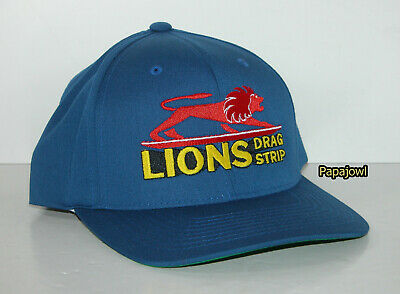 LIONS Drag Strip Hat Adjustable Ball Cap New