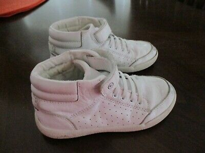 d33eac092770d STRIDE RITE STONE High Top Boys/Girls Toddler Size 9 White