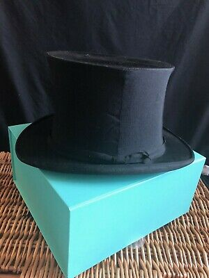Antique Victorian  G.a. Dunn & Co Collapsible (Pop Up) Silk Top Hat