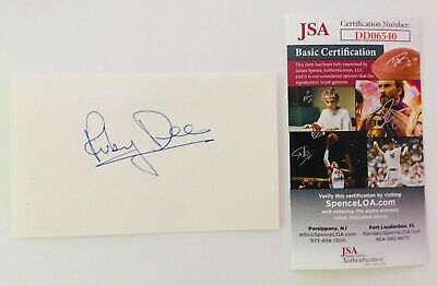 Cards & Papers Harry Reems Signed Autographed 3x5 Card Jsa Certified Adult Film Star