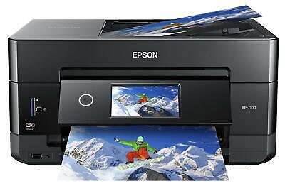 Epson Expression XP-7100 Premium Wireless Color Photo Printer, DVDs, Touchscreen