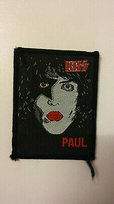 Kiss Paul Stanley Face SMALL vintage music patch band glamrock rock aufnaher