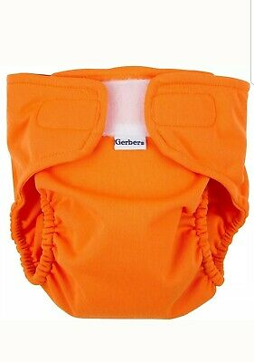 Gerber All-in-One Reusable Diaper with Insert Starter Set size Medium 16-18lbs