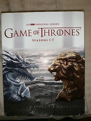 Game of Thrones: Complete Seasons 1-7 (Blu Ray Disc)