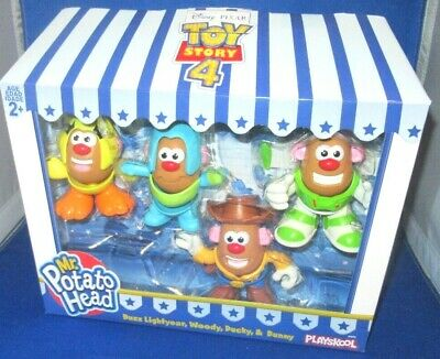 Disney Pixar Toy Story 4 Movie Mr. Potato Head Mini Buzz Woody Ducky Bunny,New