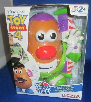 Disney Pixar Toy Story 4 Movie Mr. Potato Head Spud Lightyear New