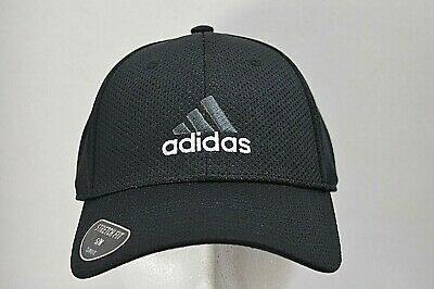 361631b8 ADIDAS MENS AMPLIFIER Stretch Fit Climalite Hat Cap Black - $15.00 ...