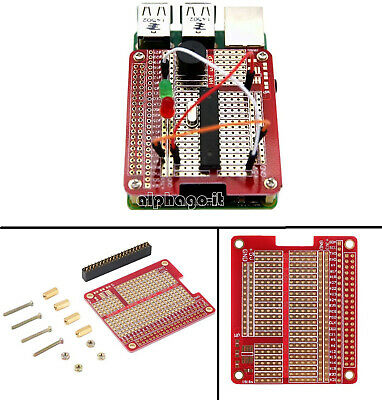 New DIY Prototyping Hat Shield Hole Plate Kit for Raspberry Pi 2 Model B A+/B+