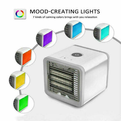 Portable Mini Air Conditioner Cool Cooling For Bedroom Artic Cooler Fan