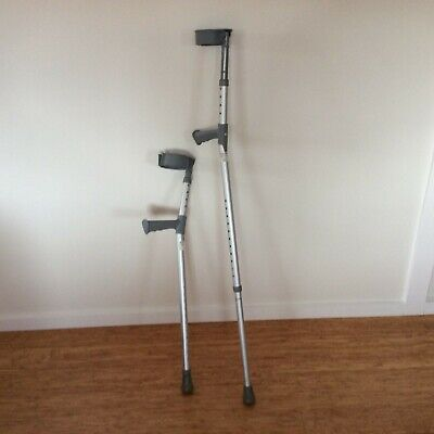 Coopers Crutches Forearm / Elbow Adjustable Guardian Up To 127Kg