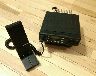 MOTOROLA GTX M11URD6CB1AN Trunked Mobile Radio 800Mhz 35 Watts with Mic & Stand