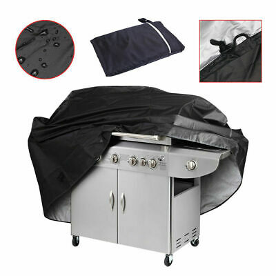 """BBQ Gas Grill Cover 57"""" Barbecue Waterproof Outdoor Heavy Duty Protection US NEW"""