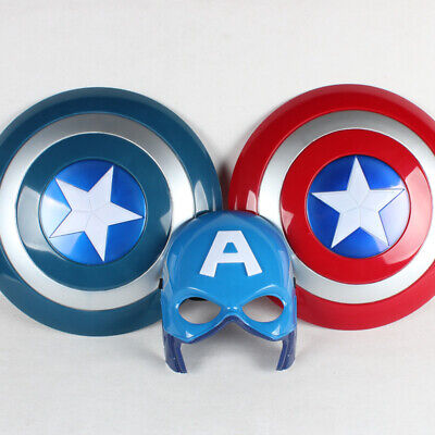 New The Avengers Captain 32CM Captain America Shield Cosplay Toy Red