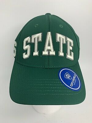 new arrivals 07021 17d42 Michigan State Spartans Top of The World Snapback Hat Cap Men s Green