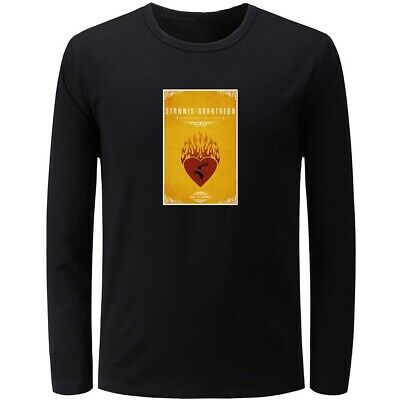 Game of Thrones House Baratheon The Night Mens Boys Casual T-Shirts Graphic Tops