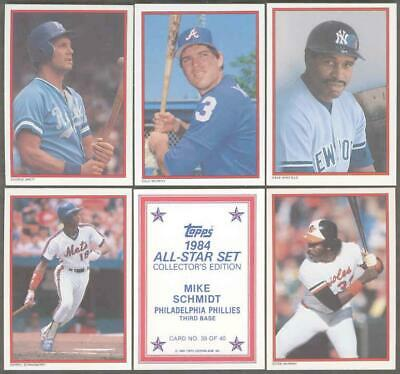 Mike Schmidt #39 1984 Topps Glossy Send-In