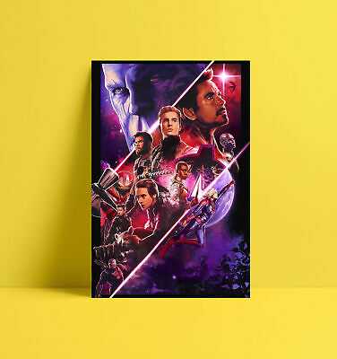 HD Print Oil Painting Home Decor Wall Art On Canvas Avengers EndGame Unframed
